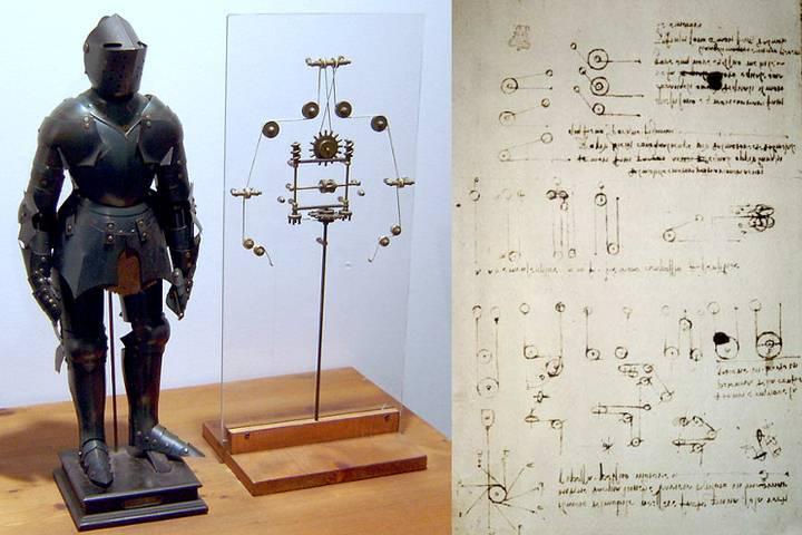 Inventos de Leonardo da Vinci: Parte 2 - 1