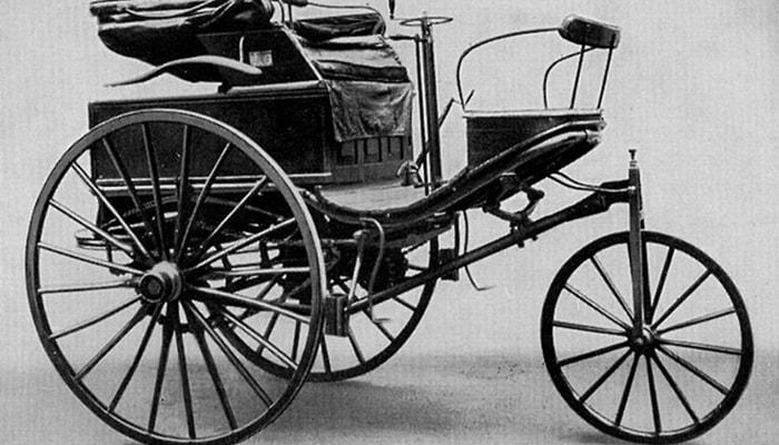 El primer automóvil a gasolina - 1
