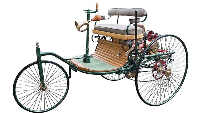 El primer automóvil a gasolina - 2