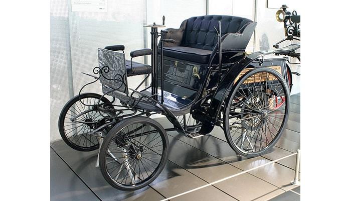 El primer automóvil a gasolina - 5