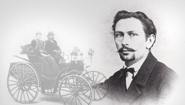 El primer automóvil a gasolina - 6