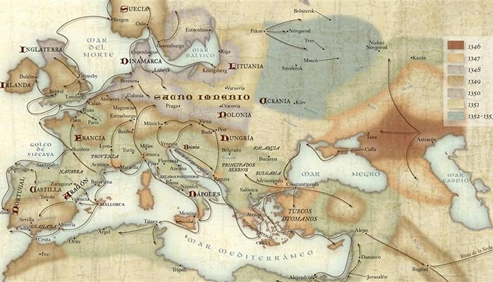 La peste negra, la epidemia más mortífera de Europa - 1
