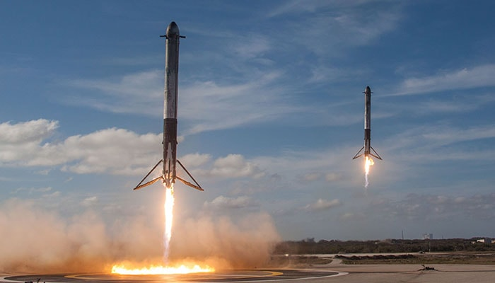 Lanzamiento del Falcon Heavy de SpaceX - 1