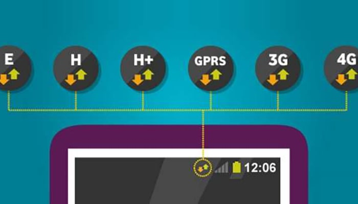 Diferencias entre E, GPRS, 3G, 4G y 5G - 5