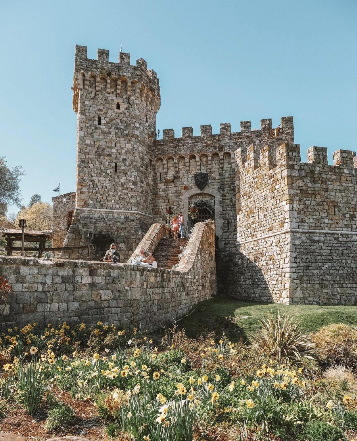 在意大利古堡里酿酒 图2