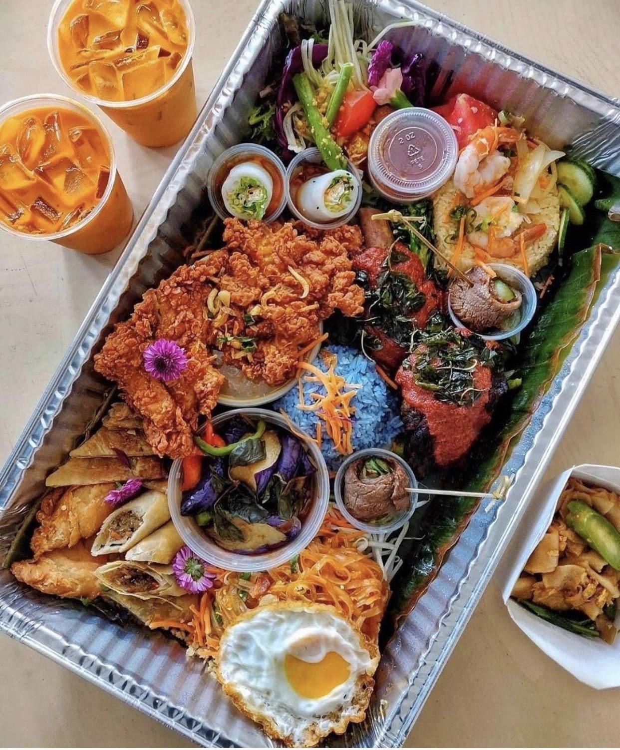 大饱口福~超级丰盛的Thai Food 图3