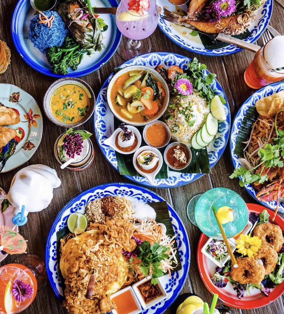 大饱口福~超级丰盛的Thai Food 图2