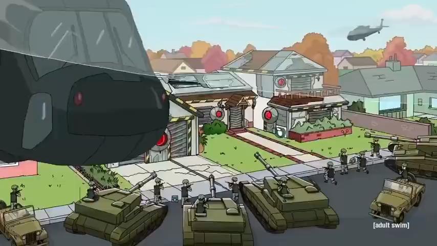 《瑞克和莫蒂Rick And Morty》第五季发布最新预告