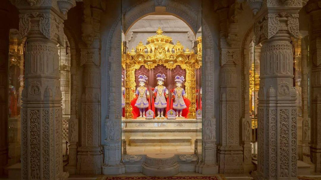 雕梁画栋的印度教庙宇🛕BAPS Shri Swaminarayan Mandir 图5