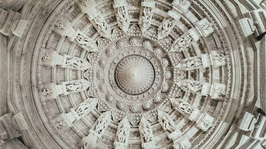雕梁画栋的印度教庙宇🛕BAPS Shri Swaminarayan Mandir 图2