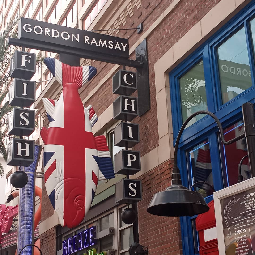 感受拉斯维加斯的另类美食风情🌟   Gordon Ramsay Fish & Chips 图3