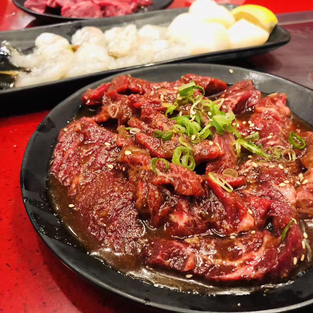 我应该不是第一个来Vegas吃韩国烤肉的吧... 图1