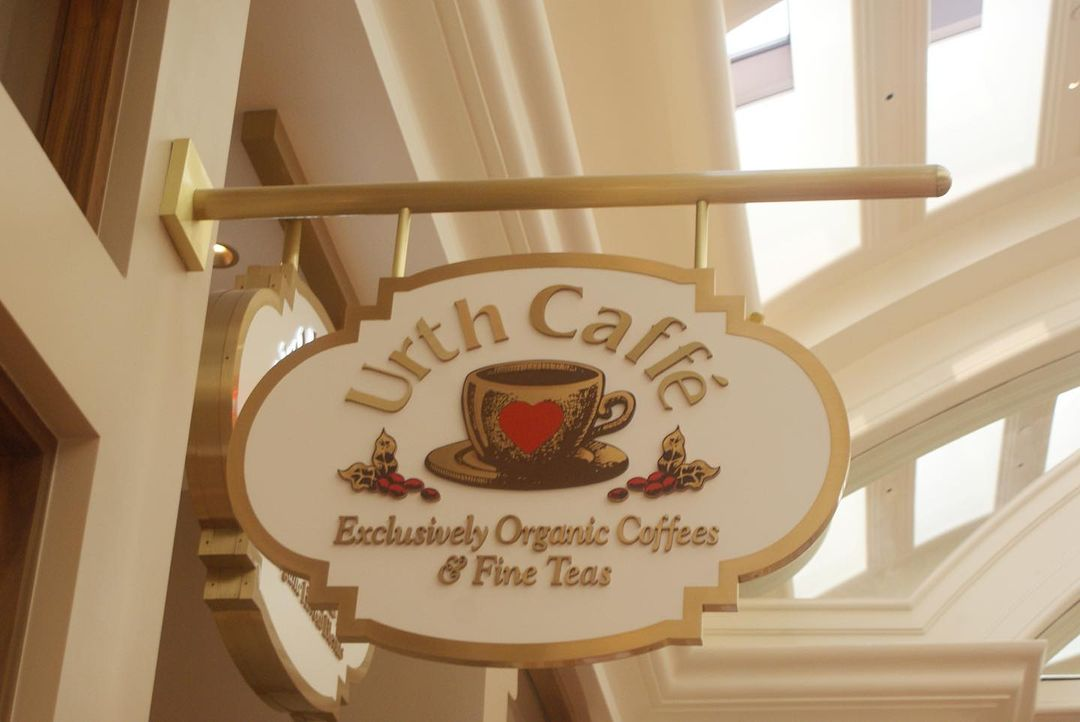 Urth Caffé☕️  维加斯可爱咖啡厅推荐 图1