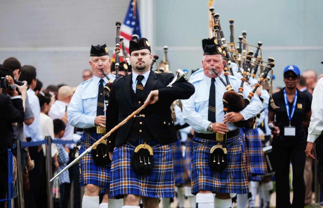毕业典礼传统之苏格兰风笛演奏