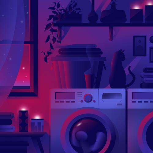 Henry's Laundry Room