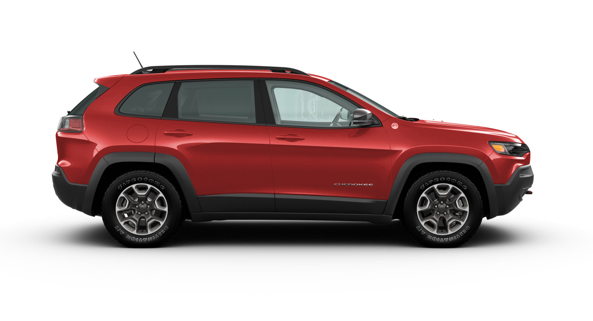 Jeep CHEROKEE TRAILHAWK  4X4 3.2L AT FIRECRACKER RED Exterior 2