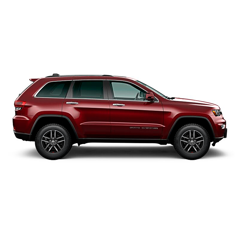 Jeep GRAND CHEROKEE LIMITED MID 4X4 3.6L AT PEARL RED VELVET Exterior 3