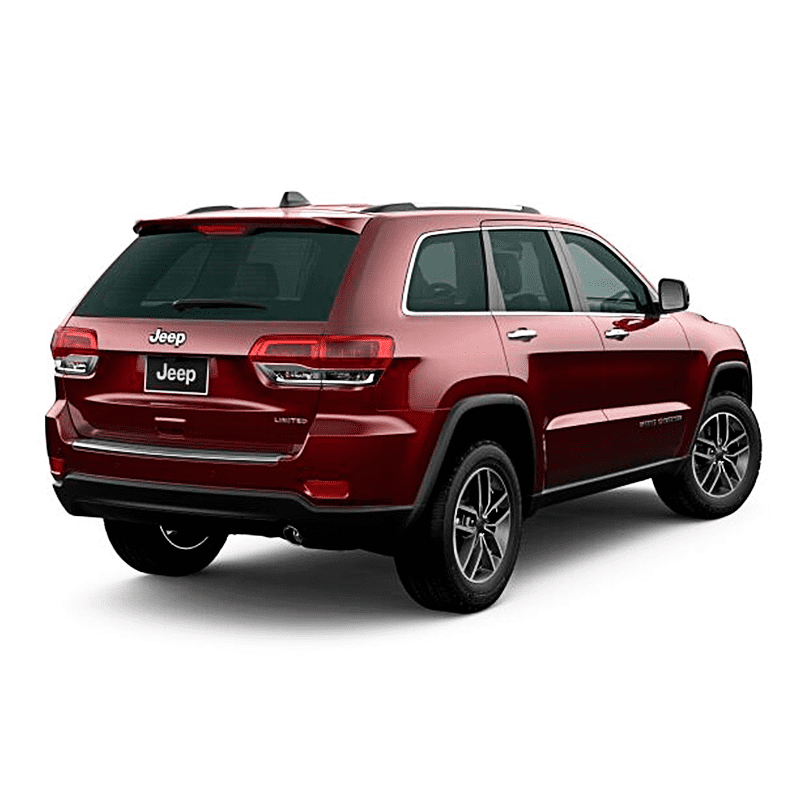 Jeep GRAND CHEROKEE LIMITED MID 4X4 3.6L AT PEARL RED VELVET Exterior 4