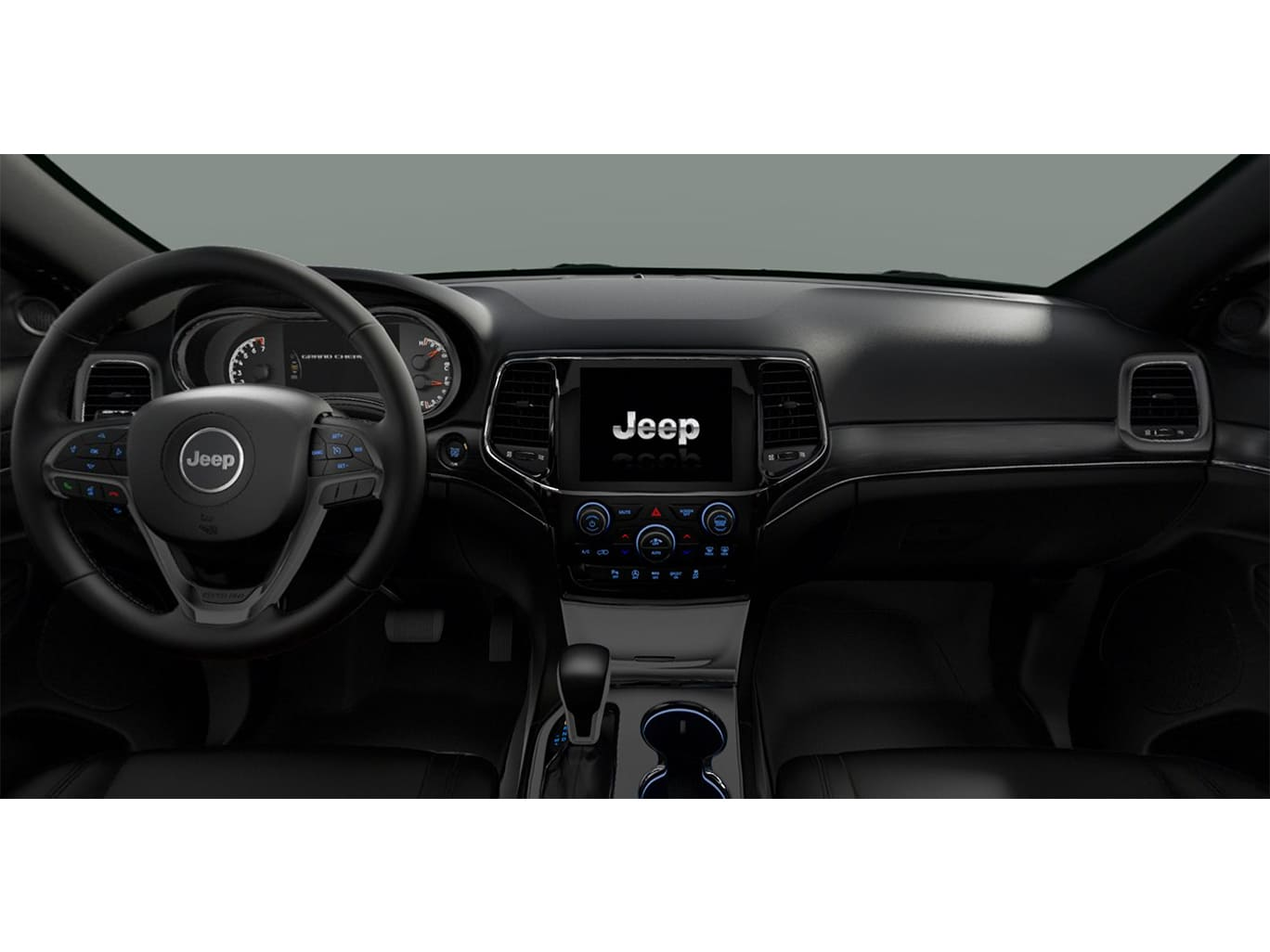 Jeep GRAND CHEROKEE LIMITED MID 4X4 3.6L AT CUERO NEGRO Interior 1