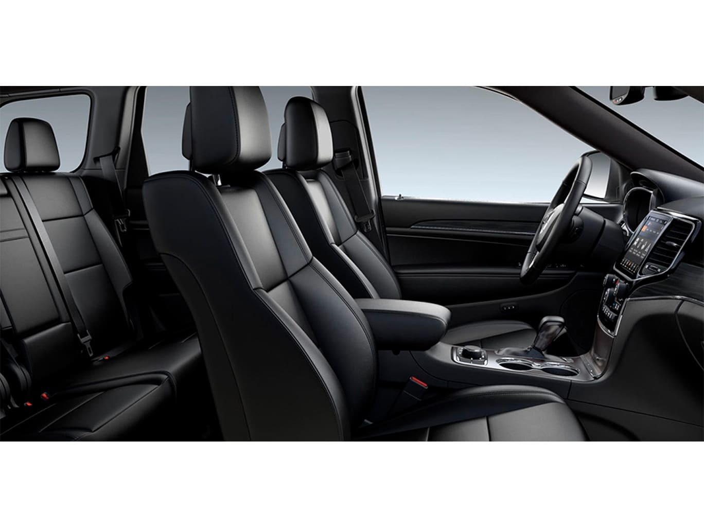 Jeep GRAND CHEROKEE LIMITED MID 4X4 3.6L AT CUERO NEGRO Interior 2