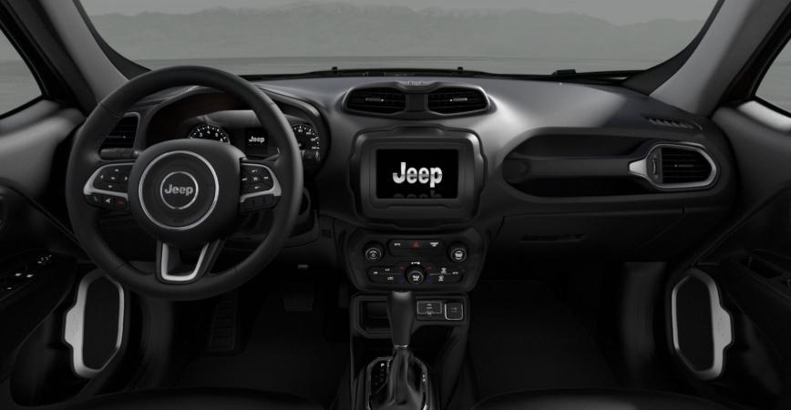 Jeep RENEGADE SPORT 4X2 1.8L AT TELA NEGRO Interior 1