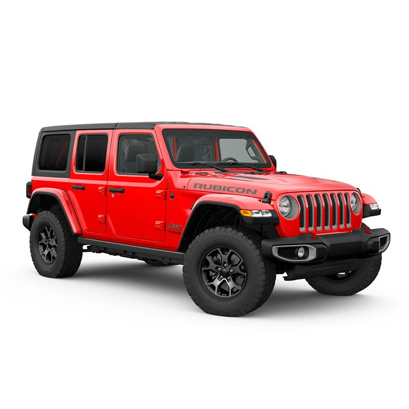 Jeep ALL NEW WRANGLER UNLIMITED RUBICON 4X4 3.6L AT FIRECRACKER RED