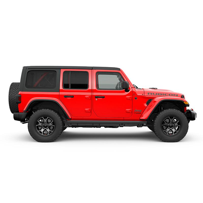 Jeep ALL NEW WRANGLER UNLIMITED RUBICON 4X4 3.6L AT FIRECRACKER RED Exterior 2