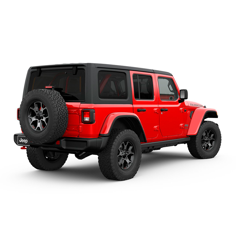 Jeep ALL NEW WRANGLER UNLIMITED RUBICON 4X4 3.6L AT FIRECRACKER RED Exterior 3