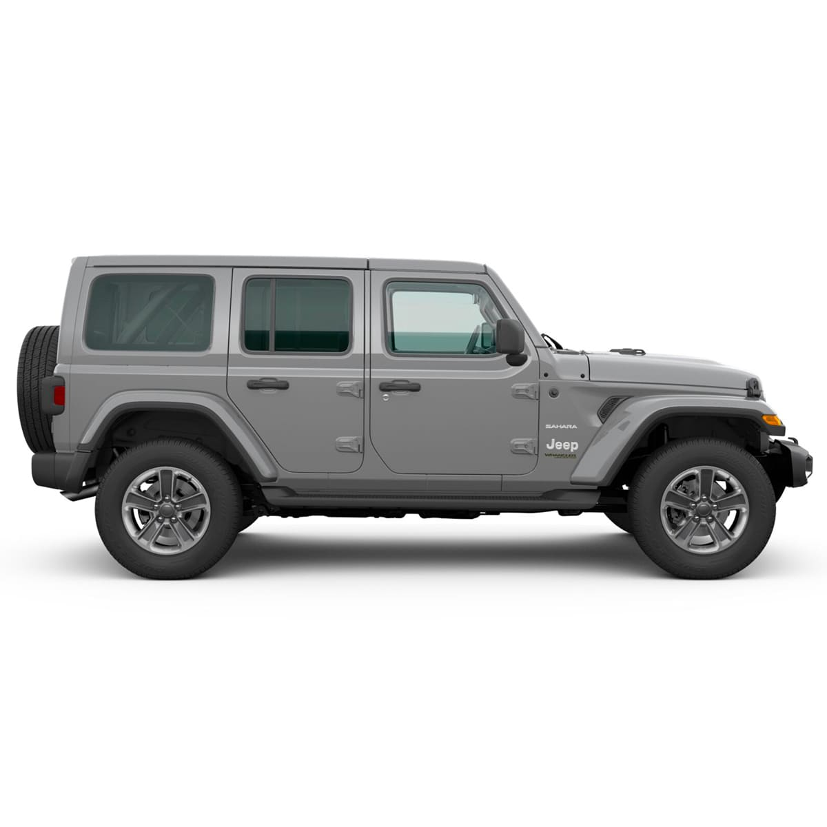Jeep ALL NEW WRANGLER UNLIMITED SAHARA 4X4 3.6L AT STING GRAY CLEAR COAT Exterior 2