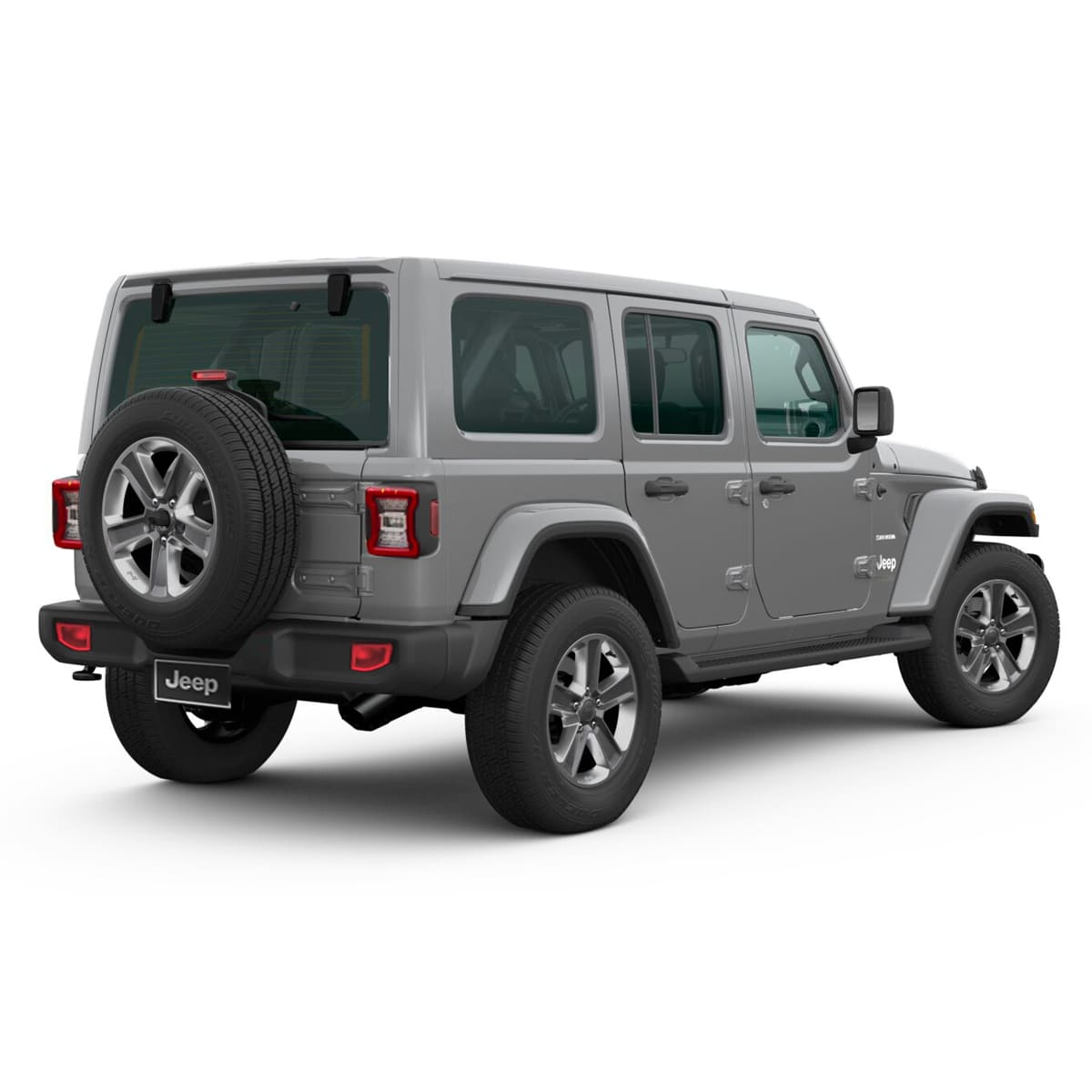 Jeep ALL NEW WRANGLER UNLIMITED SAHARA 4X4 3.6L AT STING GRAY CLEAR COAT Exterior 3