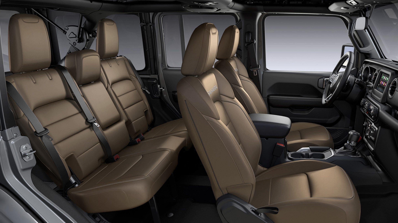 Jeep ALL NEW WRANGLER UNLIMITED SAHARA 4X4 3.6L AT CUERO BEIGE Interior 2