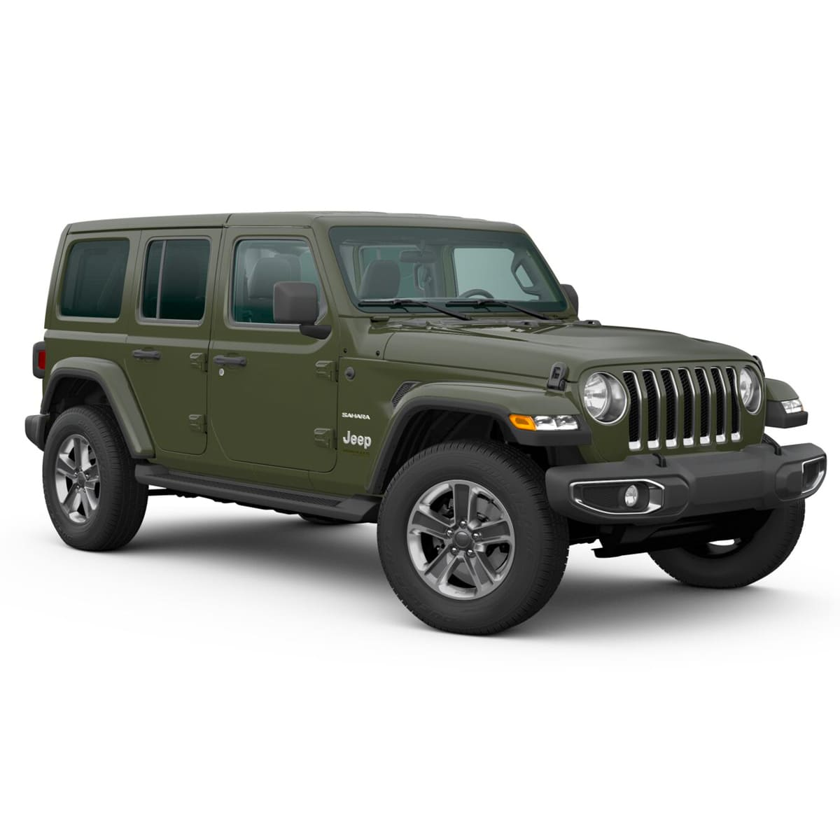 Jeep ALL NEW WRANGLER UNLIMITED SAHARA 4X4 3.6L AT SARGE GREEN