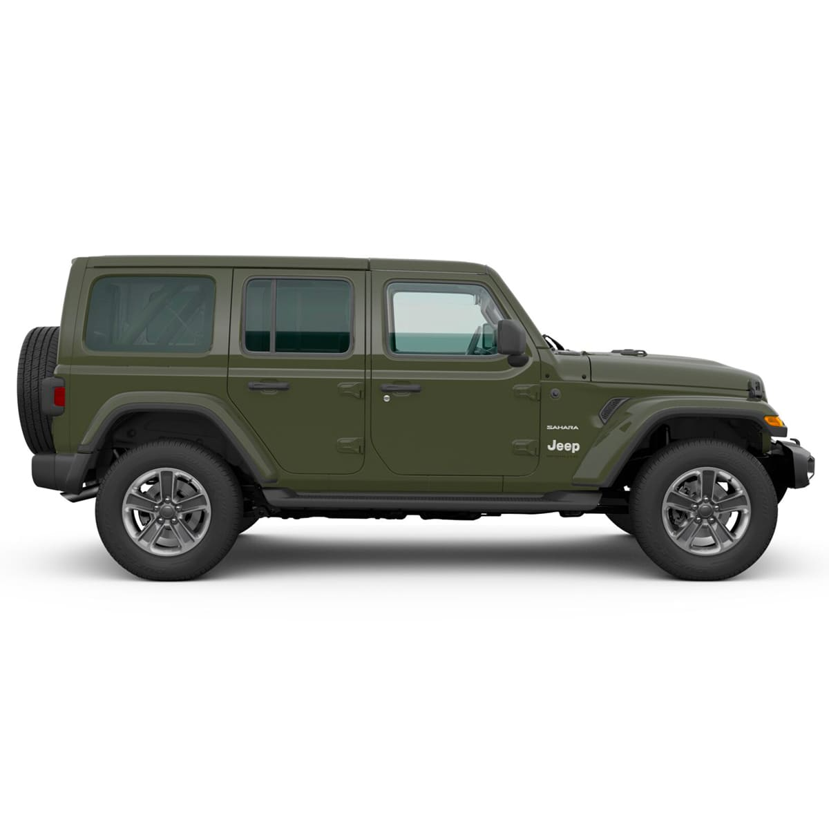 Jeep ALL NEW WRANGLER UNLIMITED SAHARA 4X4 3.6L AT SARGE GREEN Exterior 2