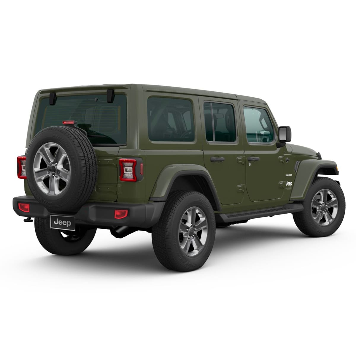 Jeep ALL NEW WRANGLER UNLIMITED SAHARA 4X4 3.6L AT SARGE GREEN Exterior 3