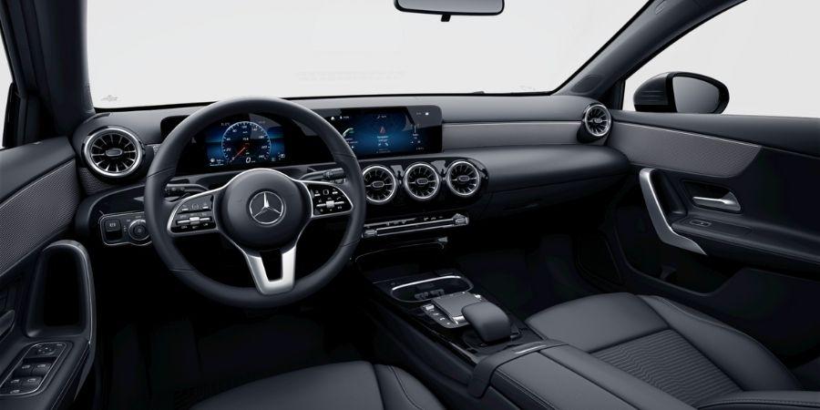Mercedes-Benz A 200 PROGRESSIVE SC ART / TELA FLÉRON NEGRO Interior 1
