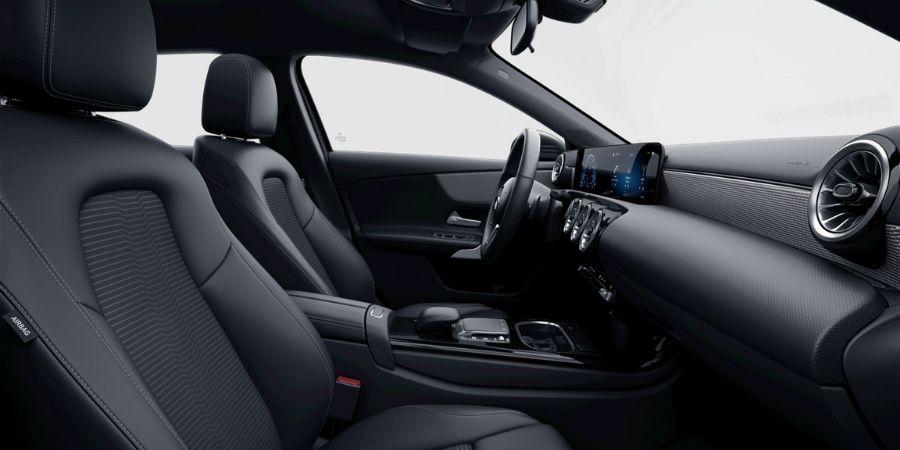 Mercedes-Benz A 200 PROGRESSIVE SC ART / TELA FLÉRON NEGRO Interior 2