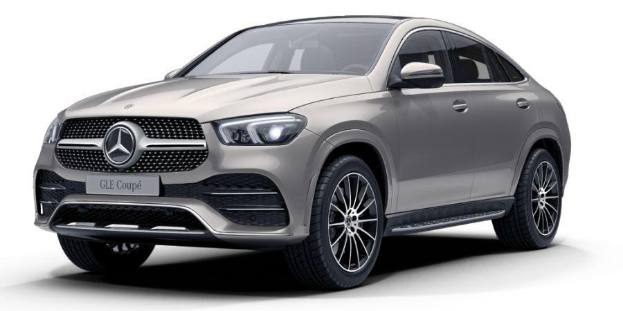 Mercedes-Benz GLE 450 COUPÉ KIT AMG PLATA MOJAVE