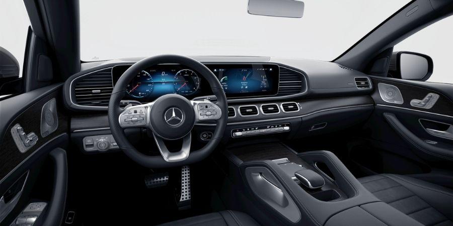 Mercedes-Benz GLE 450 COUPÉ KIT AMG SC ART/MICROFI DINAMICA NEGRO Interior 1
