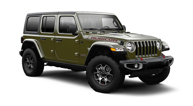 Jeep ALL NEW WRANGLER UNLIMITED RUBICON 4X4 3.6L AT SARGE GREEN