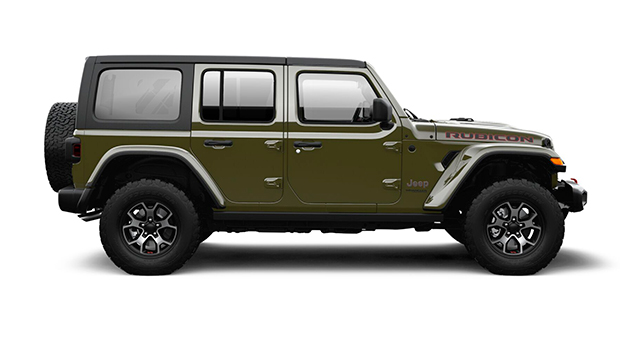 Jeep ALL NEW WRANGLER UNLIMITED RUBICON 4X4 3.6L AT SARGE GREEN Exterior 2