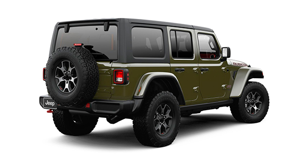 Jeep ALL NEW WRANGLER UNLIMITED RUBICON 4X4 3.6L AT SARGE GREEN Exterior 3