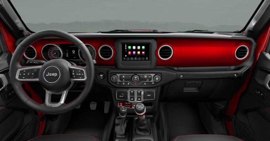 Jeep ALL NEW WRANGLER UNLIMITED RUBICON 4X4 3.6L AT CUERO NEGRO Interior 1