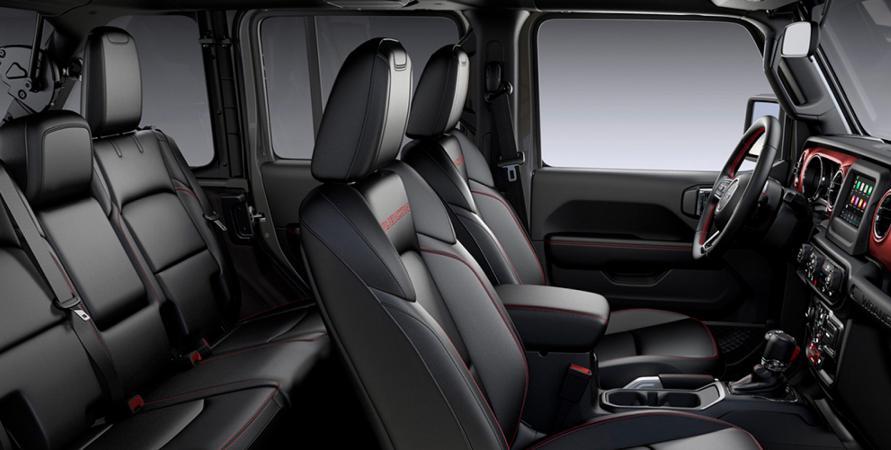 Jeep ALL NEW WRANGLER UNLIMITED RUBICON 4X4 3.6L AT CUERO NEGRO Interior 2