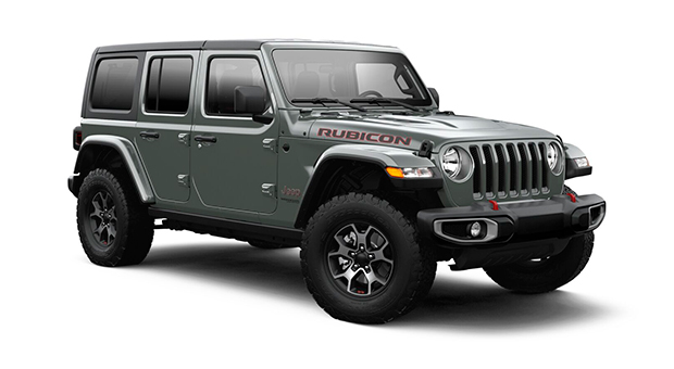 Jeep ALL NEW WRANGLER UNLIMITED RUBICON 4X4 3.6L AT STING-GRAY CLEAR COAT