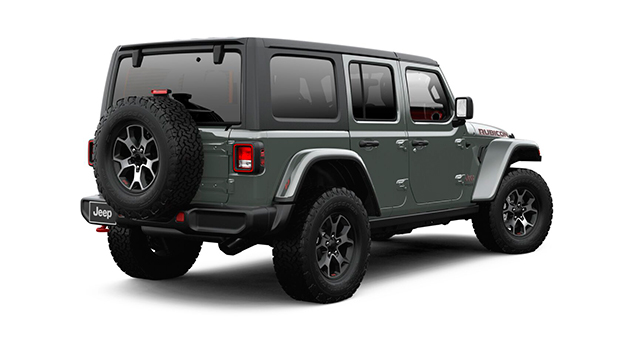 Jeep ALL NEW WRANGLER UNLIMITED RUBICON 4X4 3.6L AT STING-GRAY CLEAR COAT Exterior 3
