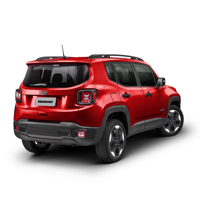 Jeep RENEGADE SPORT 4X2 1.8L MT COLORADO RED Exterior 4