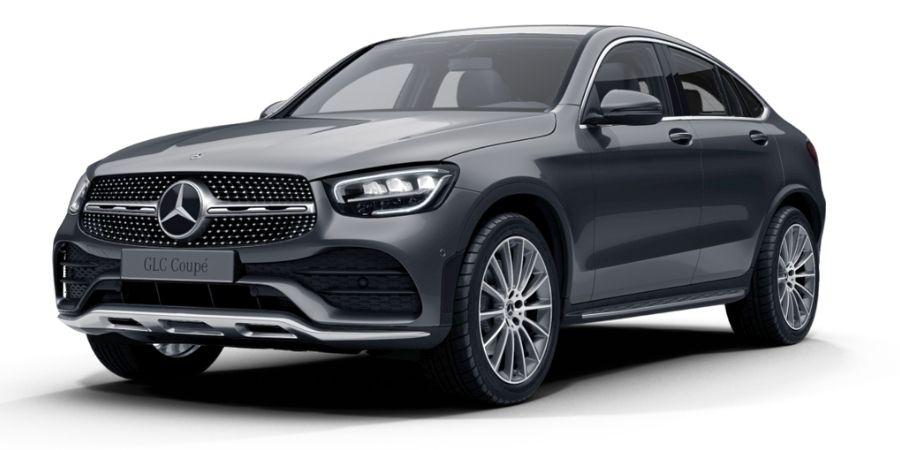 Mercedes-Benz GLC 200 COUPÉ KIT AMG GRIS SELENITA