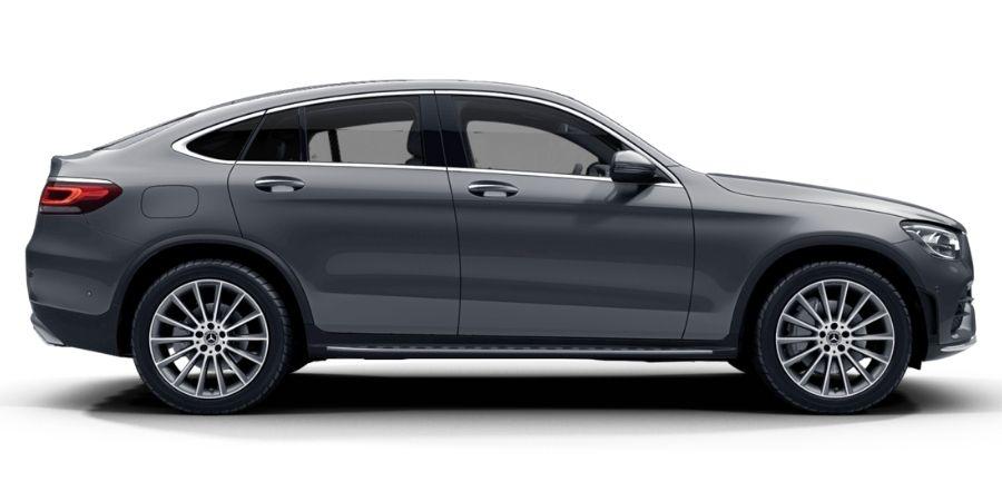 Mercedes-Benz GLC 200 COUPÉ KIT AMG GRIS SELENITA Exterior 2