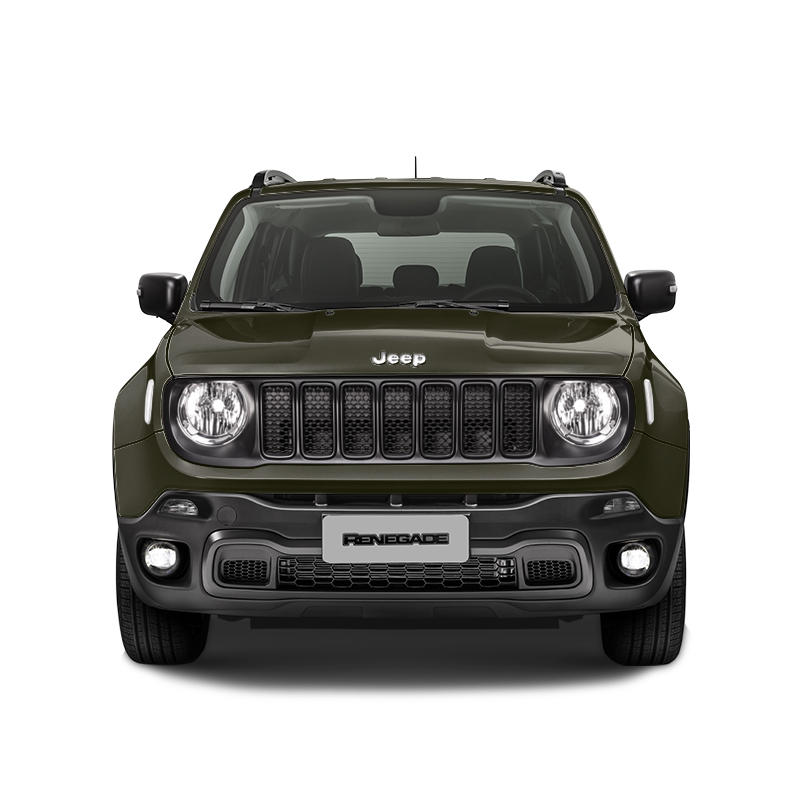 Jeep RENEGADE SPORT 4X2 1.8L MT RECON GREEN CLEAR COAT