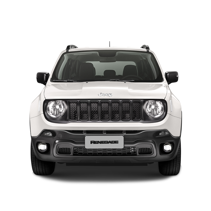 Jeep RENEGADE SPORT 4X2 1.8L AT ALPINE WHITE Exterior 1